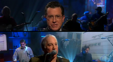 Colbert Report/Paul Simon