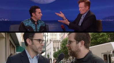 Conan/Sacha Baron Cohen